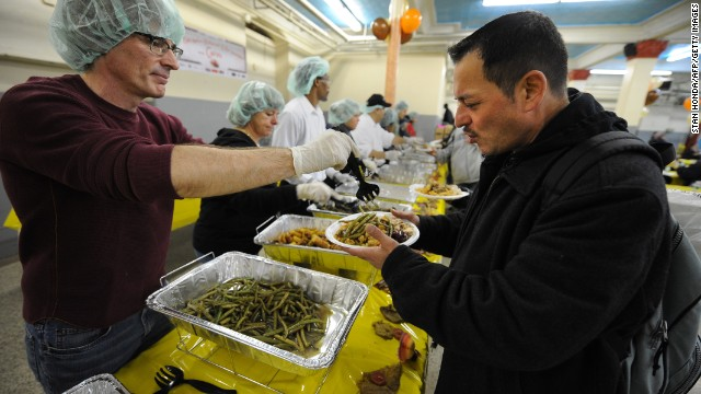 On this Thanksgiving, donate food or volunteer your time to help those less fortunate, says Donna Brazile.