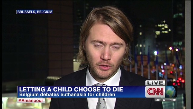 Belgian lawmaker backs child euthanasia law