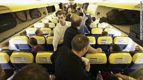 "By a distance, the most annoying thing people do on planes, according to our readers, is grab your seat when they are moving about the cabin. ""(It) illustrates how people are oblivious to the (effect) of their actions and couldn't care less about the person in front of them,"" says commenter robert."