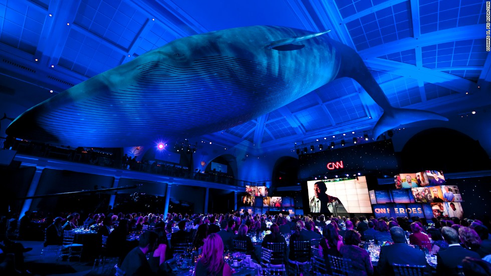 The show was held at the American Museum of Natural History in New York. Celebrities were on hand to honor the Heroes, who receive $50,000 for making the top 10.
