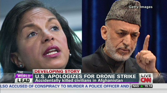U.S. sorry for Afghan drone strike
