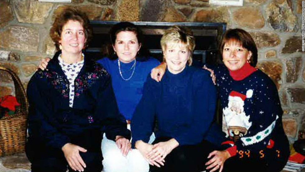 Friends Laurie Benken, Linda Plevyak (Lin), Linda Wade and Audrey Schoninger (shown here in 1998, from left to right) have taken a December trip to North Carolina nearly every year for the past two decades. Benken and Wade have made the trip every year.