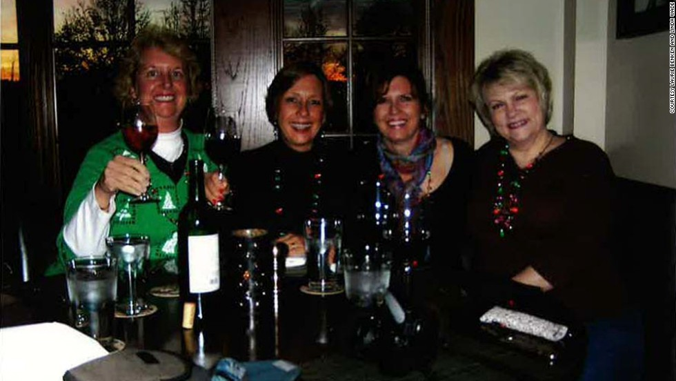 Benken, Schoninger, Plevyak and Wade returned to the Biltmore in 2011 to enjoy the wine at Cedric's Tavern.