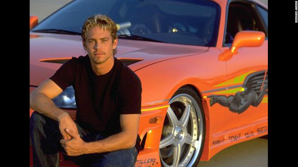 "Walker appeared in 2001's ""The Fast and the Furious,"" the first movie in the franchise."