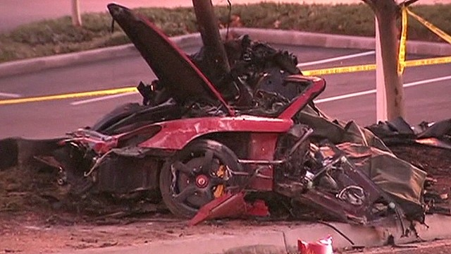 Paul Walker killed in car crash