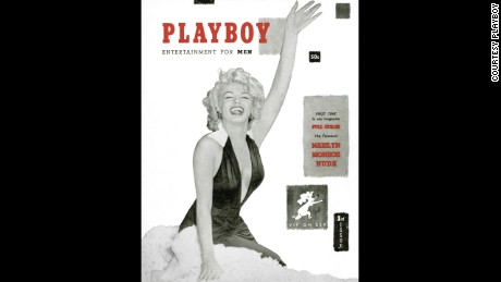 December 1953 The first issue of Playboy magazine, featuring Marilyn Monroe on the cover, is created by Hugh Hefner on the kitchen table of his South Side Chicago apartment. Financed with $600 of Hefner's money and less than $8,000 of raised capital, the magazine appears on newsstands in December 1953 and sells more than 51,000 issues.