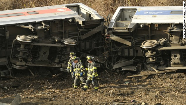 7 train cars derailed at Bronx station