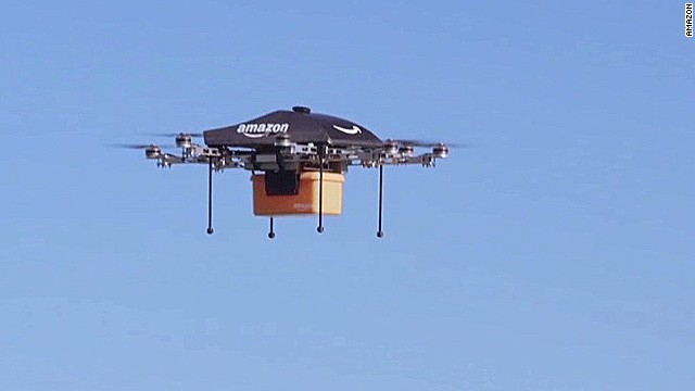 Amazon plans to deliver using drones