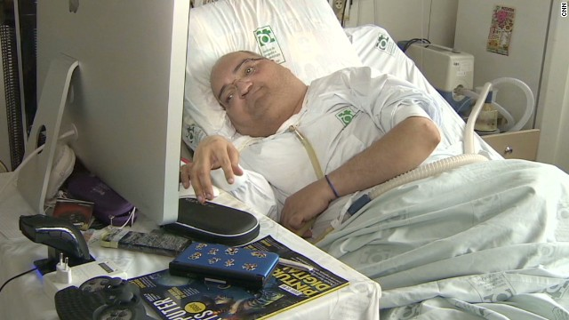 Polio survivor in hospital for 43 years