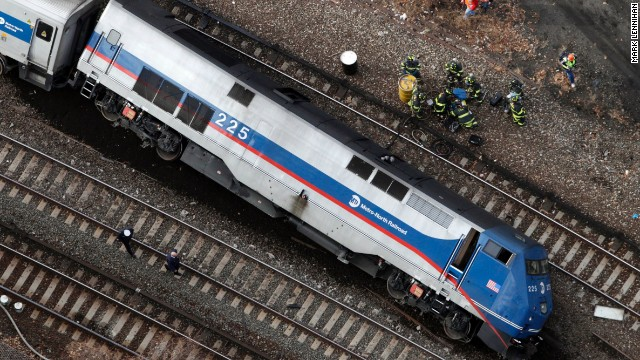 NTSB: Train going 82 MPH in 30 MPH zone