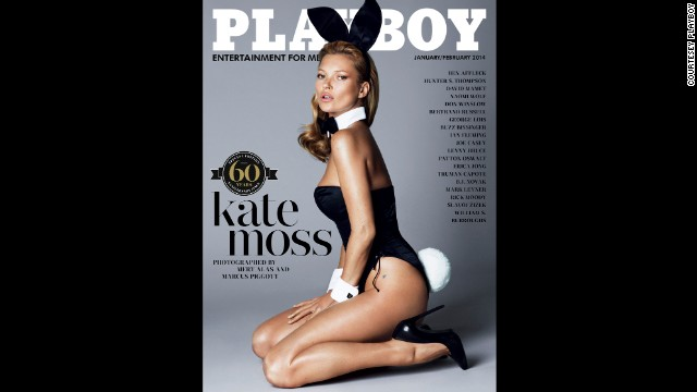 The cover of Playboy Magazine's 60th anniversary issue features Kate Moss. Sixty years ago, the first issue of Playboy magazine, featuring Marilyn Monroe on the cover, is created by Hugh Hefner on the kitchen table of his South Side Chicago apartment. Financed with $600 of Hefner's money and less than $8,000 of raised capital, the magazine appeared on newsstands December 1, 1953, and sold more than 51,000 issues.