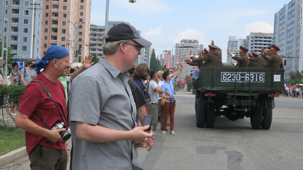 This year's Victory Day, on July 2, attracted a lot of Western tourists. The highlight of the tour was watching the military parade of tanks, troops and missiles. Many tourists got caught up in the spirit of the event, high-fiving soldiers as they drove past.