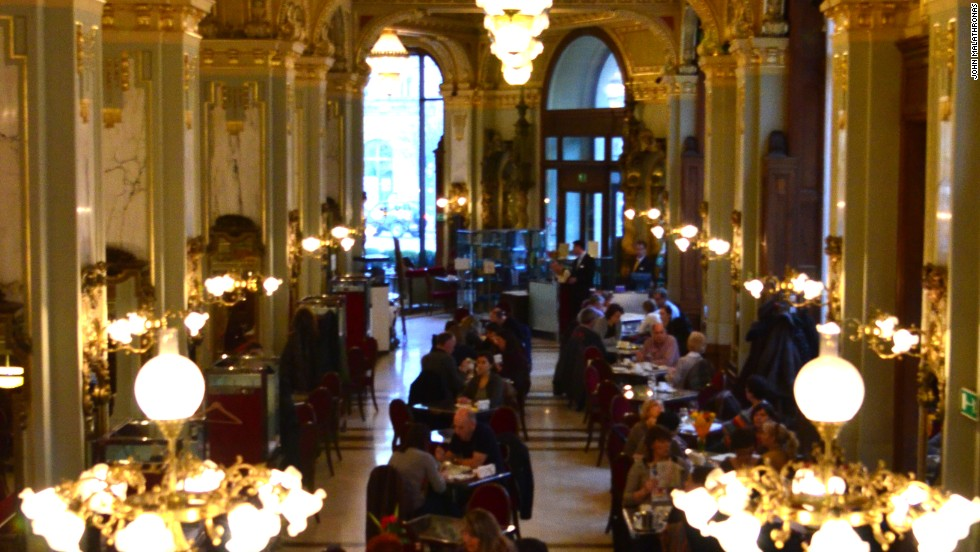 Pest's vitality shows in its elegant, talk-filled old cafés. In Buda you're more likely to find exclusive spas.