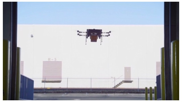 Coming soon: Amazon delivery drones?