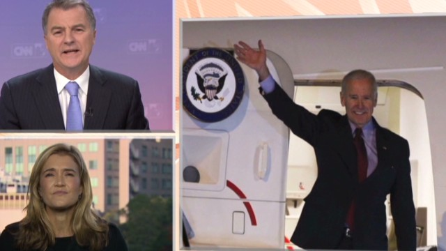 Joe Biden arrives in Tokyo