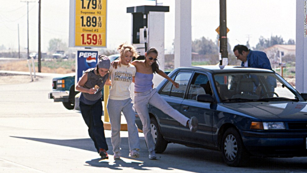 "In 2002, Taryn Manning, Spears and Zoe Saldana appeared in the film ""Crossroads."""