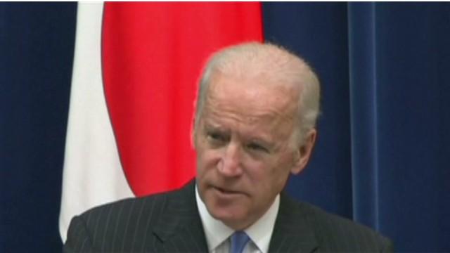 Biden urges Japan, China to ease tension