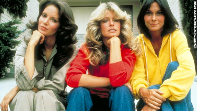 "Jaclyn Smith, left, appeared in court to support Ryan O'Neal and her late ""Charlie's Angels"" co-star, Farrah Fawcett."