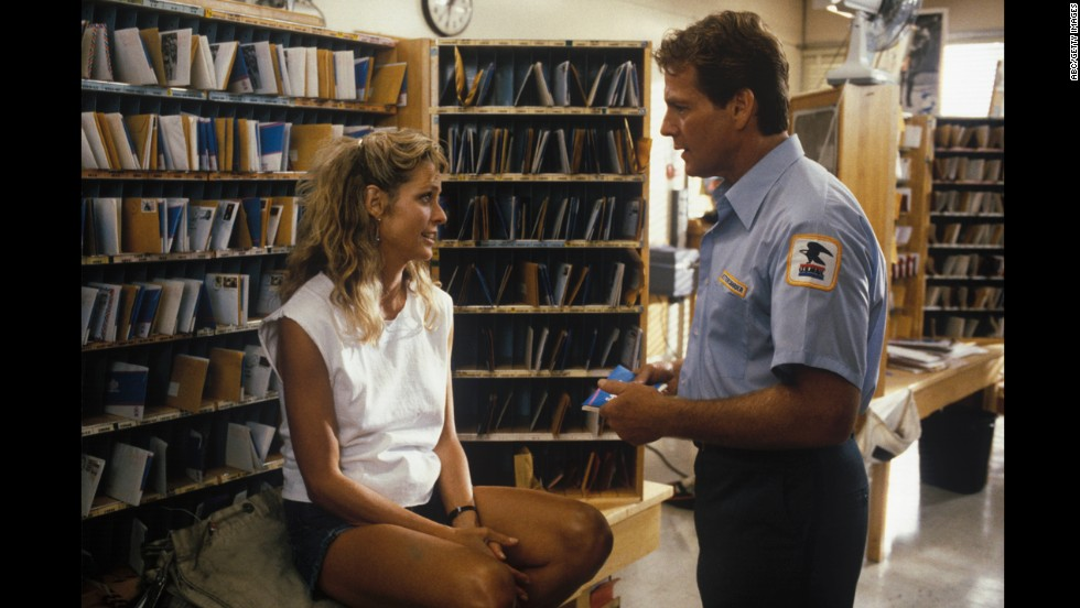 """Fawcett and O'Neal star in the ABC movie """"Small Sacrifices"""" in 1989."""