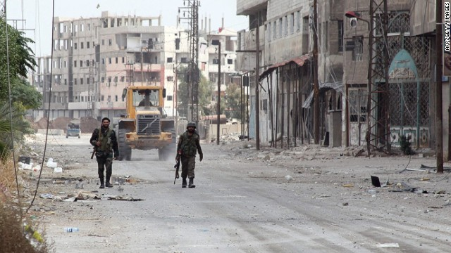 Strategic Syrian town changes hands