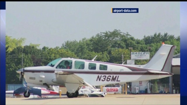 The plane -- seen here in a file photo -- was found after five weeks.