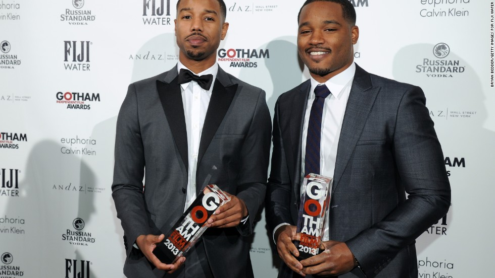 """Fruitvale Station"" star Michael B. Jordan and director Ryan Coogler sweep up awards at the Gotham Independent Film Awards on December 2."