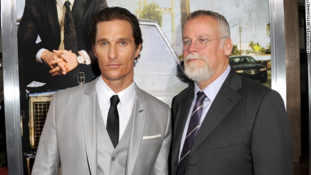 "Matthew McConaughey, left, played lawyer Mickey Haller in the film adaptation of Michael Connelly's ""The Lincoln Lawyer."""