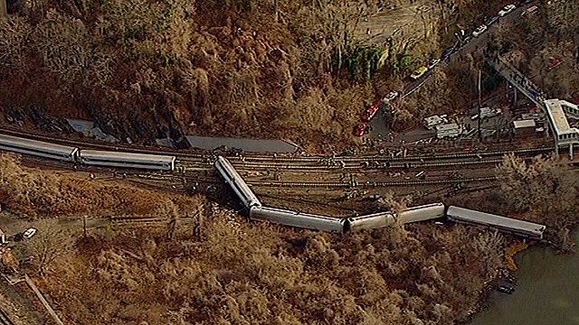 Was sleep a factor in train derailment?