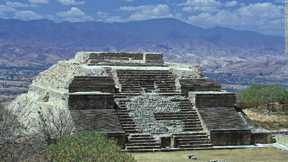 Monte Albán in Oaxaca, Mexico, is a marvel of urban planning, especially when you consider that the Olmecs -- and later the Zapotecs -- who built it did so by carving its terraced landscape out of the mountainside.
