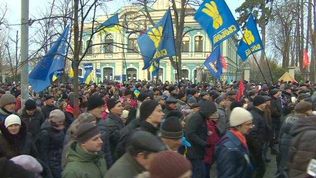 Ukraine's Prime Minister calls for peace