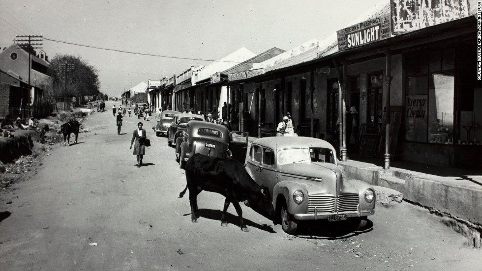 Many black African migrants, especially, ended up being forced to live in rundown townships outside Johannesburg.