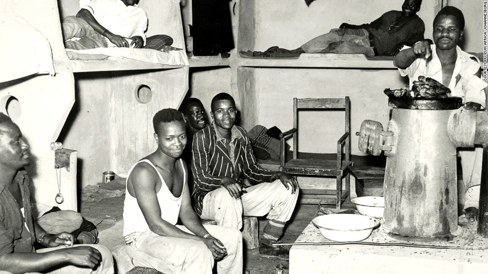 Wealth came at a cost: poverty forced many Africans to work in the mines and they lived in terrible conditions.