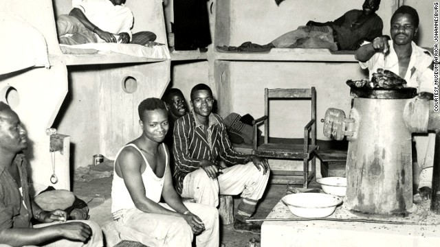 Many of Joburg's first miners lived in terrible conditions.