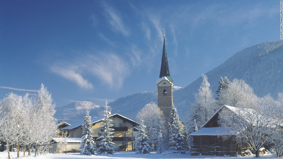 From your base in the cozy Austrian village of Kirchdorf, a Christmas or New Year's holiday allows for days of skiing the slopes of Austria's Tyrol.