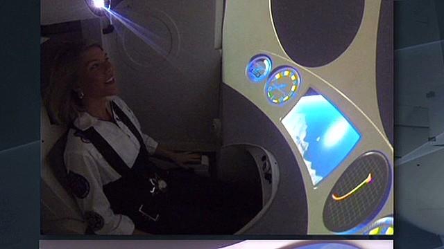 Future tourists train for space flight