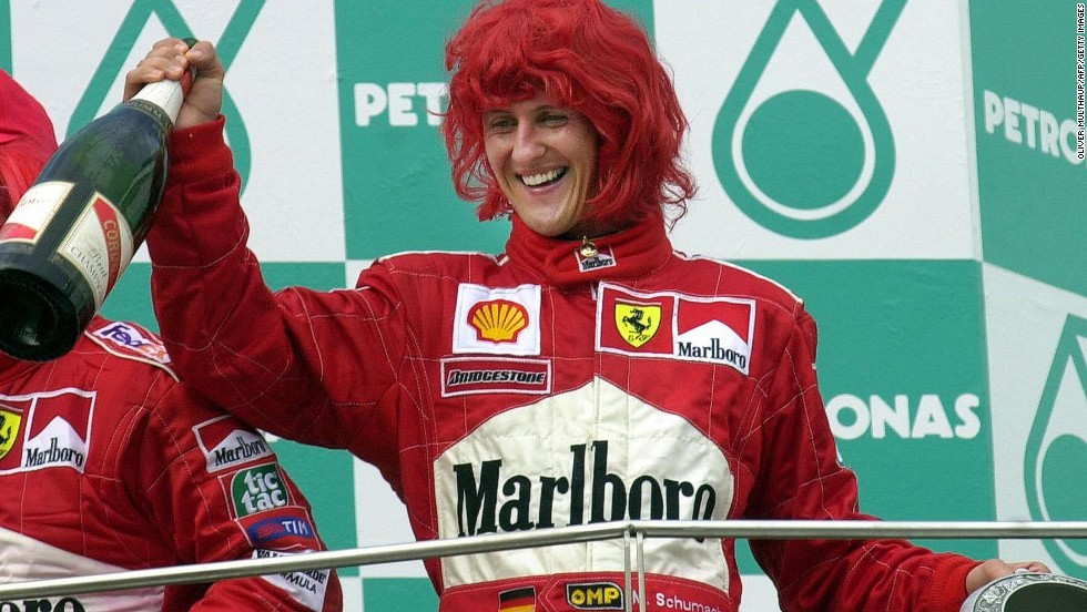 Schumacher won five of his seven world titles in the scarlet colors of the Ferrari team. Noack expects Vettel to one day leave Red Bull as he seeks to add to his titles -- will he join Ferrari?