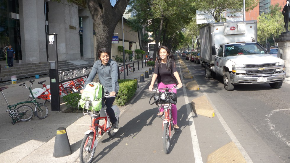 The Mexican capital's Ecobici bike share system averages 5.5 trips per bike each day and 158.2 trips per 1,000 residents. This one's off limits to those without a Mexico-issued credit card or proof of local address.