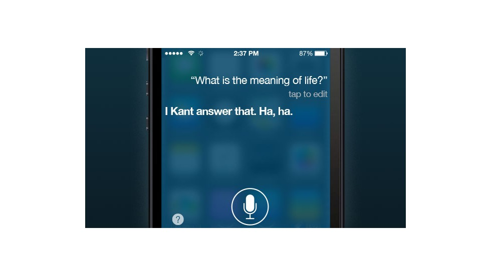 The developers at Apple baked some wit into Siri's otherwise robotic responses -- but could we be headed to a future where technology can provide a more technical answer to this question?