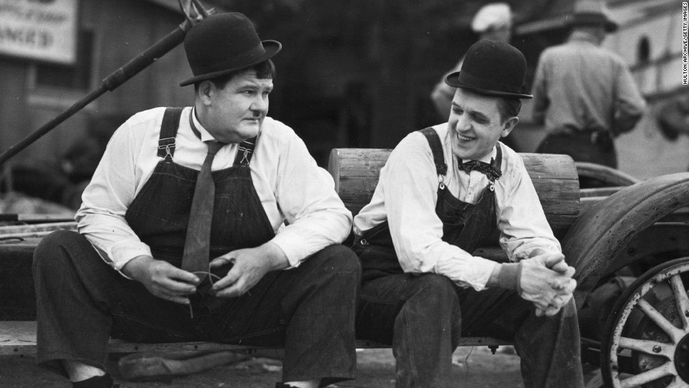 "The arrival of sound in movies at the end of the 1920s spelled an end to the careers of many of the silent era's stars. Bucking this trend, Stan Laurel and Oliver Hardy scored big successes straddling the advent of the ""talkies."" They added the occasional spoken gag or musical prop to their simply plotted short films. The plot of the <strong>""The Music Box"" </strong>(1932) involves little more than <strong>Laurel and Hardy</strong> carrying a piano to the top of the stairs -- but in their hands turns into <a href=""http://www.tcm.com/mediaroom/video/413863/Music-Box-The-Movie-Clip-Ease-It-Down.html"" target=""_blank""><strong>a much-referenced classic</a></strong>."