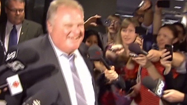 Toronto mayor denies attempt to buy tape