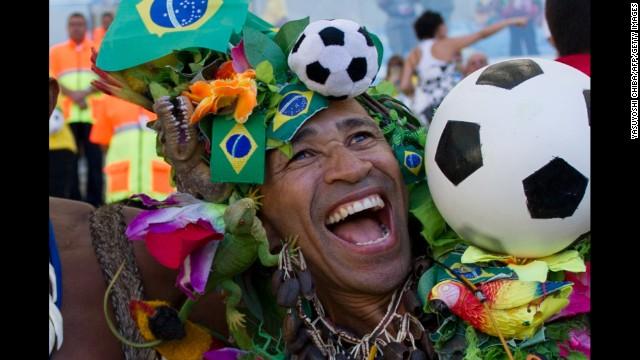 Brasil: la FIFA le toma examen