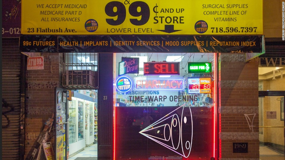 "Step inside the ""99¢ Store of the Future,"" a pop-up installation in downtown Brooklyn offering your standard products -- alongside some items from a very different world..."