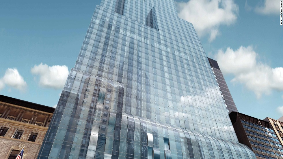 Hard to believe, but this will be Park Hyatt's first New York hotel. Opening: Q2 2014.