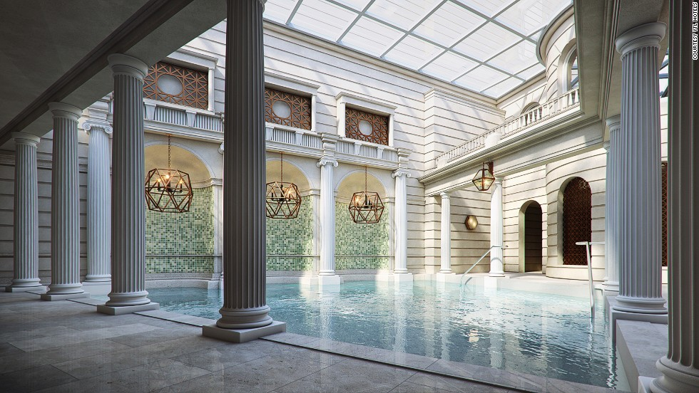 This new Bath property will be the only hotel in the United Kingdom that occupies historic structures with direct access to thermal waters. Opening: Q2, 2014.