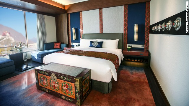 The Shangri-La Lhasa is within walking distance of World Heritage Sites.