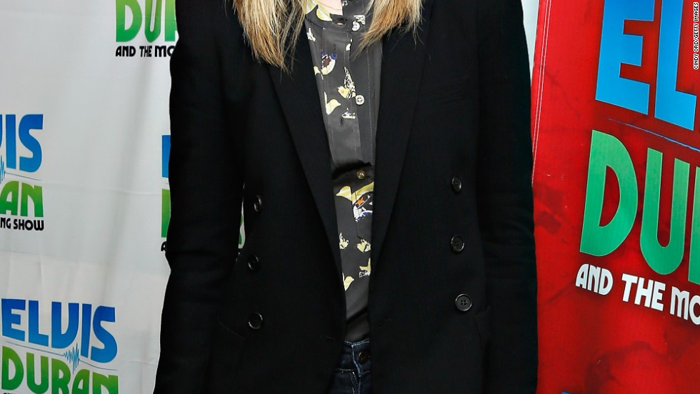 """American Horror Story: Coven"" star Sarah Paulson stops by the Elvis Duran Z100 show on December 6."