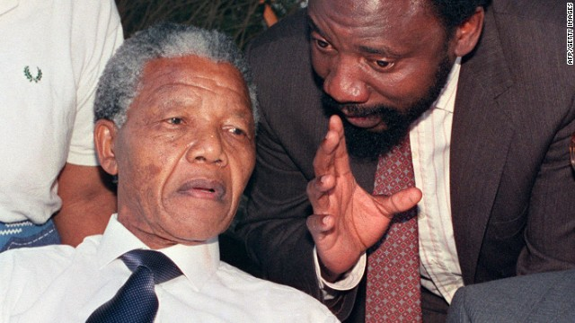 Mandela's closest confidant