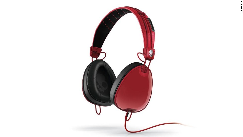 "<a href=""http://www.skullcandy.com/shop/headphones?cat=249?"" target=""_blank""><strong>Skullcandy Aviator headphones.</a></strong> There are a zillion brands and styles of headphones out there, but this stylish model -- a collaborative effort with Jay-Z's Roc Nation company -- is geared toward young people. ($119-$149)"