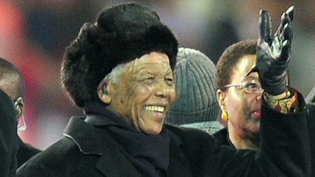 Angelou: Nelson Mandela was on a journey