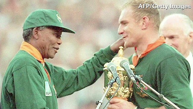 Nelson Mandela embraced power of sports